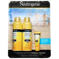 Neutrogena  露得清  海滩超防水防晒喷雾超值套装 SPF70