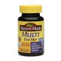 Nature Made 女性综合维生素矿物质片 90粒