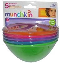 Munchkin 麦肯奇 小船碗  5只装
