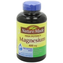 Nature Made Magnesium液体镁元素矿物质400mg 150粒