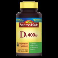 Nature Made  维生素D3 400 IU 100粒