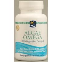Nordic  海藻Omega 625mg 60粒 柠檬味