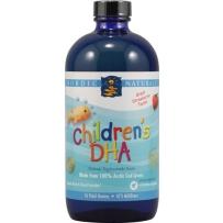 Nordic 挪威小鱼 婴幼儿童鳕鱼肝油DHA 草莓味 473ml