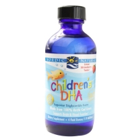 Nordic 挪威小鱼 婴幼儿童鳕鱼肝油DHA 草莓味 119ml