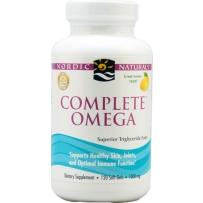 Nordic  Omega-3-6-9软胶囊  柠檬味 1000mg 120粒