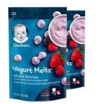 嘉宝 混合莓果酸奶小溶豆  2袋装
