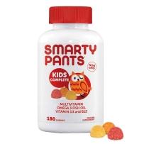 SmartyPants儿童完全多维生素含omega3+VD+B12 180粒软糖