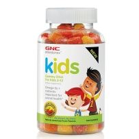GNC 儿童鱼油 DHA软糖 120粒