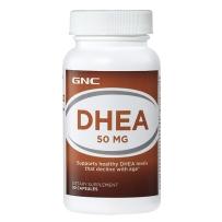 GNC  DHEA  50mg 90粒  卵巢保养 延缓衰老