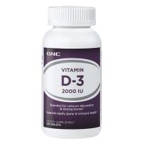 GNC 维生素D-3 2000IU 180粒片剂
