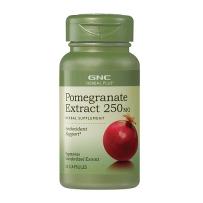 GNC 石榴籽草本精华素 250mg 50粒 美白抗氧化