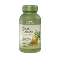 GNC 复合式马卡MACA胶囊 60粒 快速恢复体能 增强男性精力 提高生育能力