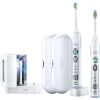 飞利浦电动牙刷2支装 Philips Sonicare Flexcare Rechargeable Sonic Toothbrush Premium Edition 2-pk