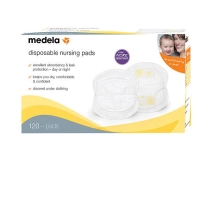 Medela 美德乐 一次性超薄防溢乳垫 120片