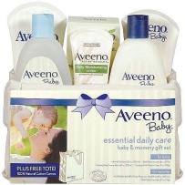 Aveeno baby婴儿和妈妈洗护礼盒套装6件套 超值装