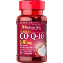 Puritan's Pride 普丽普莱 辅酶CoQ10软胶囊 100mg 60粒 保护心脏