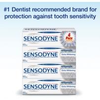 Sensodyne® 舒适达抗敏感牙膏 四支装