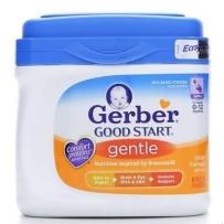 嘉宝  1段(0-12个月) 温和配方婴儿奶粉 658g