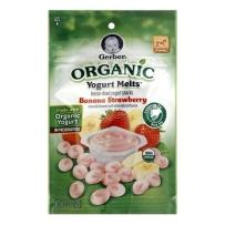 嘉宝有机酸奶溶溶豆 草莓香蕉味 2袋装(28g*2)