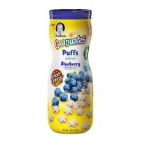 嘉宝 星星泡芙 蓝莓味2盒装(42g*2)