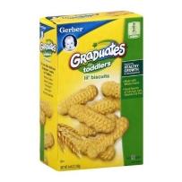 嘉宝 手指磨牙饼干 香草味  2盒装(126g*2)