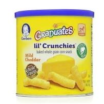 嘉宝 奶酪玉米泡芙条 富含钙铁锌 2盒装 (42g*2)