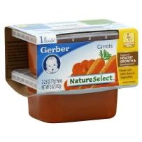 嘉宝Gerber 1段  胡萝卜泥 2套装(4盒 71g*4)