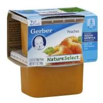嘉宝Gerber 2段 水蜜桃泥 2套装 (4盒 99g*4)