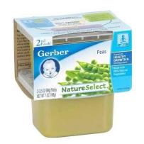 嘉宝Gerber 2段 豌豆泥 2套装 (4盒 99g*4)