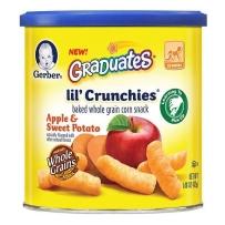 嘉宝 苹果甜薯泡芙条 2盒装(42g*2)