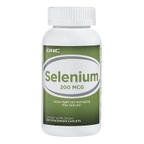 GNC 硒元素片 Selenium 200mg  200片 抗癌 提高免疫力