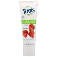 Tom's Of Maine天然含氟儿童牙膏 草莓味