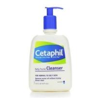 Cetaphil 丝塔芙洁面乳 473ml 适合混合及油性肌肤 温和抗敏感