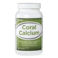 GNC 珊瑚钙镁片 加VD 天然钙源180片