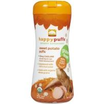 Happy Baby禧贝 天然有机泡芙(小麦圈) 甜薯味 2盒装