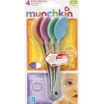 Munchkin 麦肯奇  宝宝感温变色安全勺  4支装