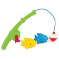 Munchkin麦肯奇  宝宝戏水洗浴钓鱼玩具 一起去钓鱼