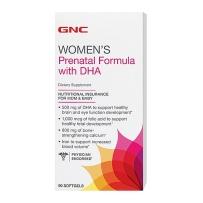 GNC 孕妇综合维生素含DHA   90粒  孕产妇营养