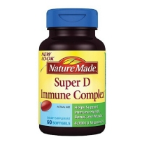 Nature Made 超级维生素D迷你免疫复合胶囊 60粒