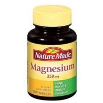 Nature Made Magnesium矿物质 镁片  250mg 100粒