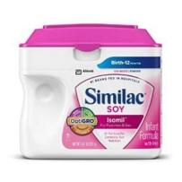Similac 雅培 1段 婴儿大豆抗敏感防胀气配方奶粉 658g