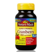Nature Made 超浓缩蔓越莓胶囊  含维他命C 60粒