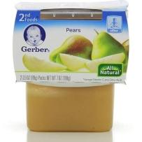 Gerber 嘉宝 2段  香梨泥  2套装 (99g × 4)