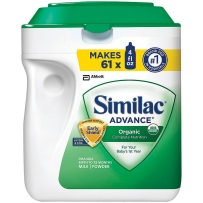 Similac 雅培 有机婴儿配方奶粉1段(0-12个月)964g