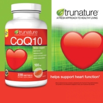 TruNature® 辅酶Q10 100mg   220粒  保护心脏