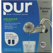 PUR 三层过滤家用立式水龙头直饮净水器(内附2个滤芯)