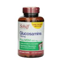 美国schiff Glucosamine 氨基葡萄糖 维骨力胶原蛋白1500mg