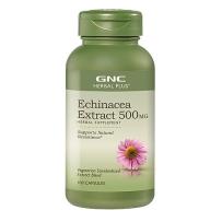 GNC 标准浓度紫锥菊精华胶囊 500mg 100粒  抗病毒 防感冒 提高免疫力