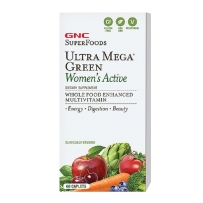 GNC   女性超级绿源综合维生素矿物质缓释片 60粒