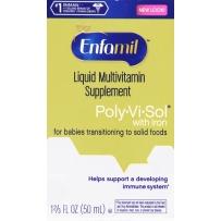 Enfamil 美赞臣 婴幼儿多种维生素滴剂 含铁 50ml